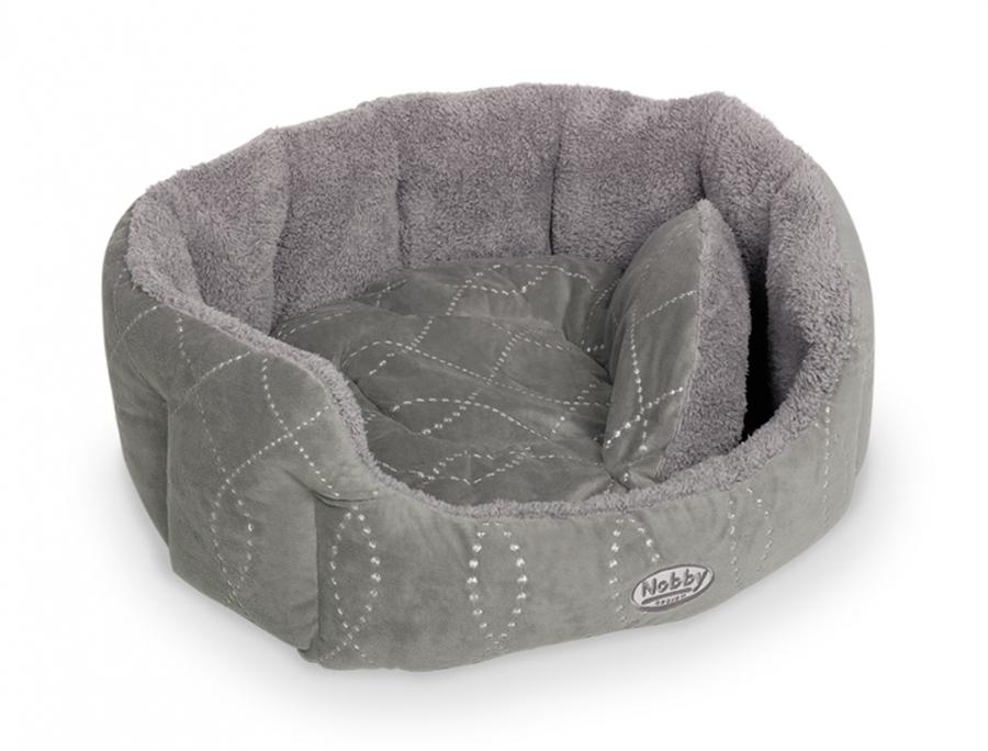 Nobby Ceno pelíšek šedý 45x40x19cm