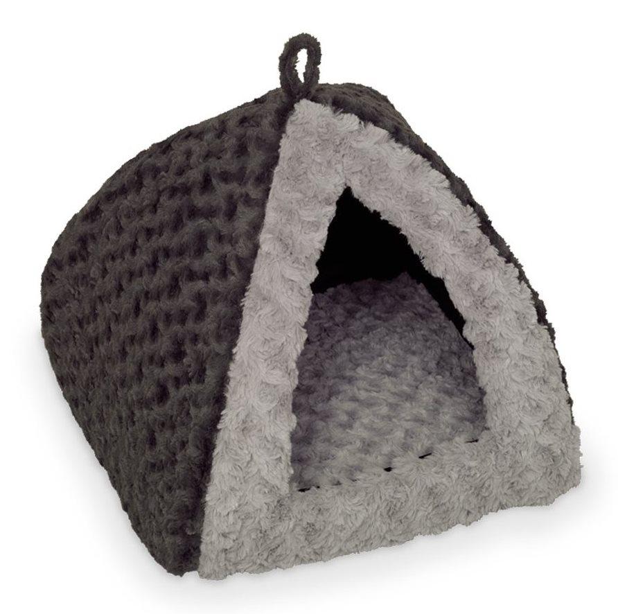 Nobby Seoli plyšové iglů šedá 40x40x35cm