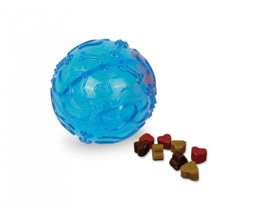 Nobby TRP Snack Ball plnící hračka malá 8cm modrá