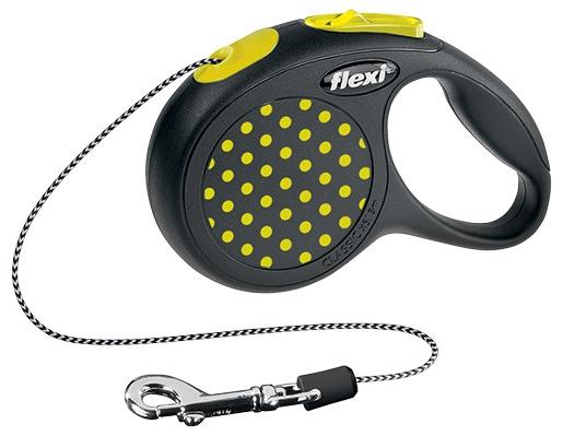 FLEXI Design XS vodítko lanko 3m žlutá