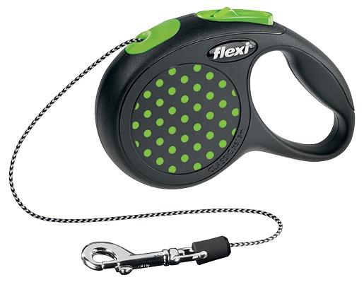 FLEXI Design XS vodítko lanko 3m zelená