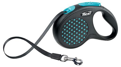FLEXI Design S vodítko pásek 5m modrá