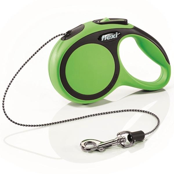 Flexi New Comfort XS vodítko lanko 3m/8kg zelená