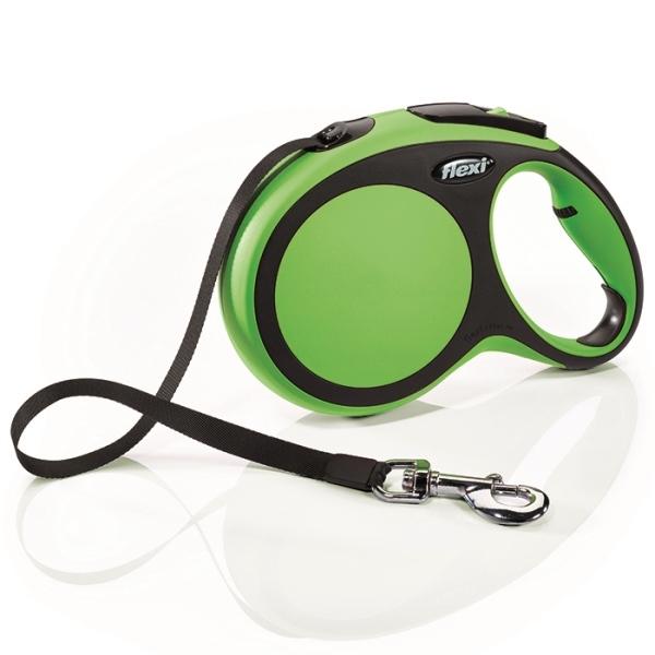Flexi New Comfort L vodítko pásek 8m/50kg zelená