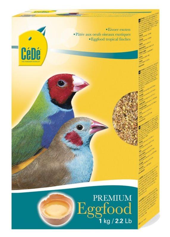 CéDé Premium vaječné krmivo pro exotické ptactvo 1kg