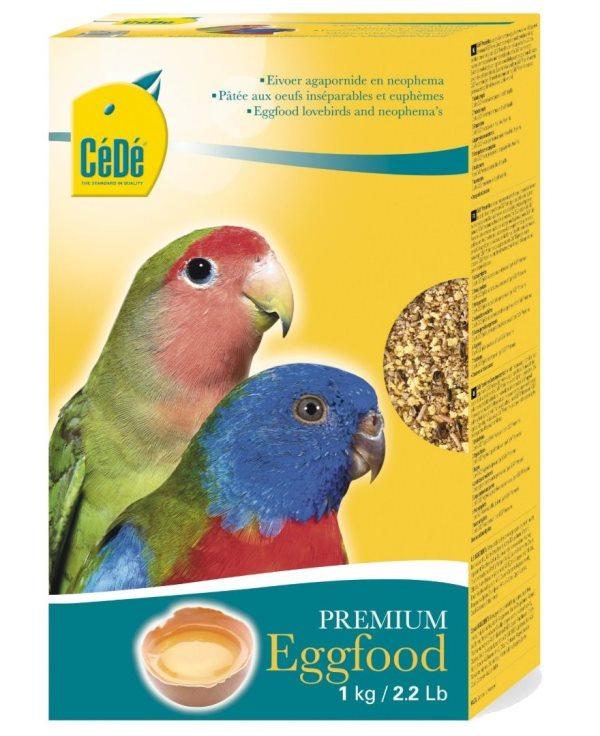 CéDé Premium vaječné krmivo pro hrdličky 1kg