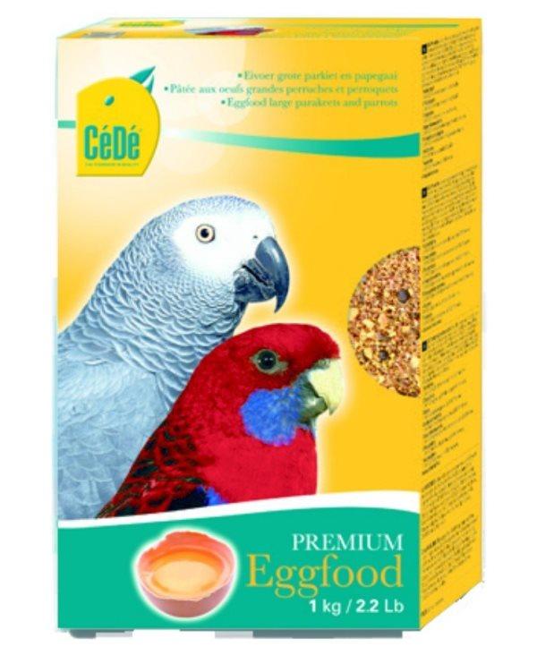 CéDé Premium vaječné krmivo střední & velký papoušek 1kg