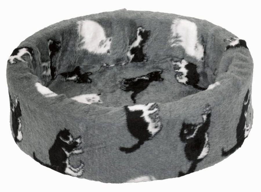 Nobby plyšový pelíšek kočičí motiv 40cm