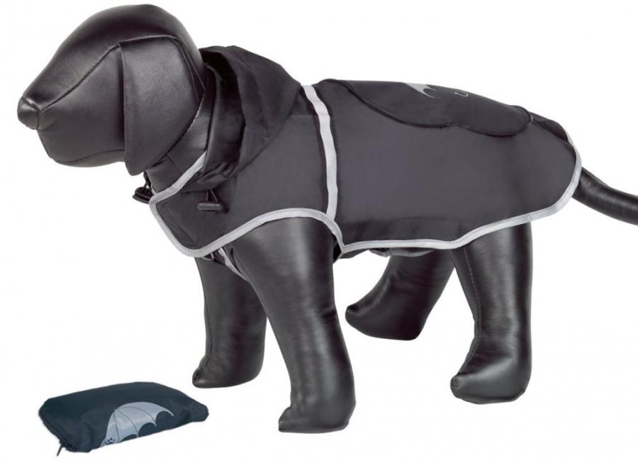 Nobby Rainy černá reflexní pláštěnka pro psa 26cm
