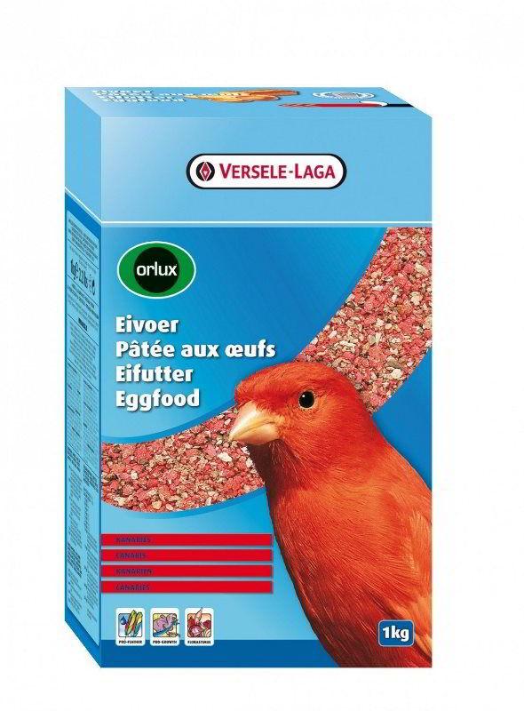 ORLUX suché vaječné krmivo pro červené kanáry 1kg