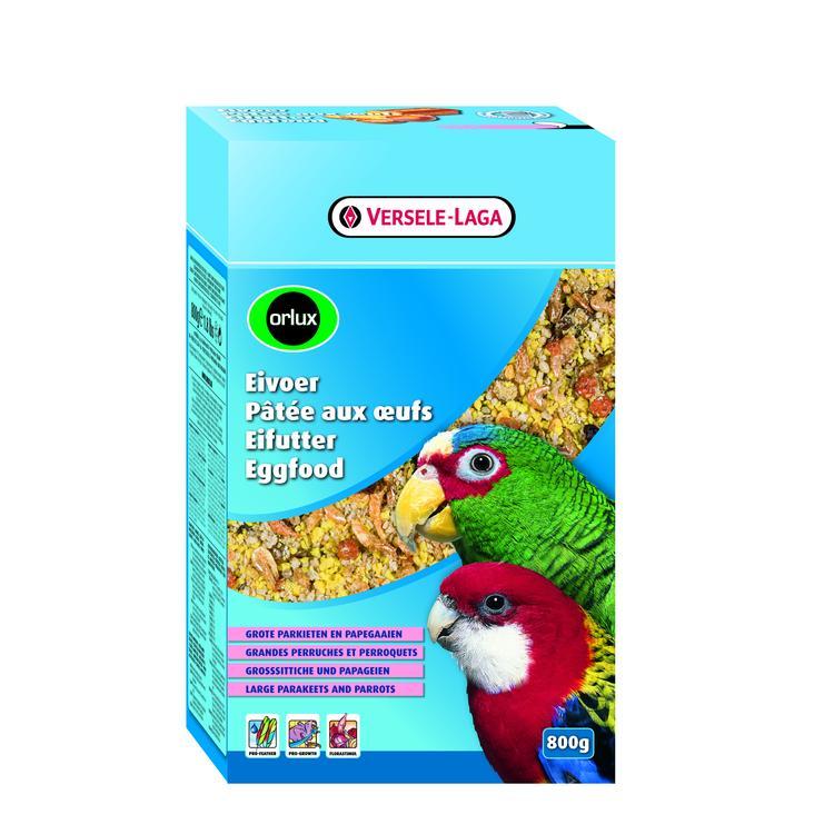 Orlux Eggfood dry střední a velký papoušek 800g
