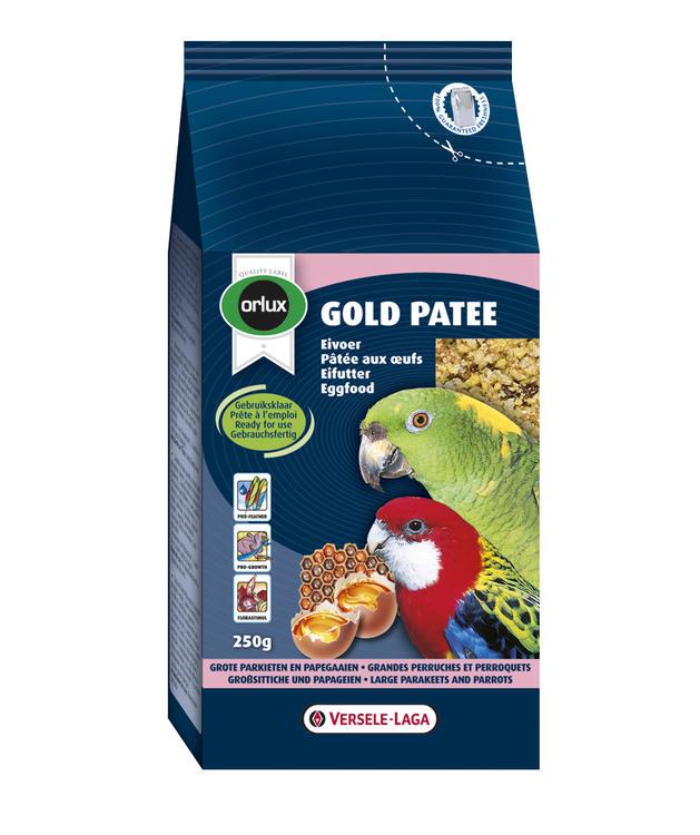 Orlux Gold patee střední & velký papoušek 1kg