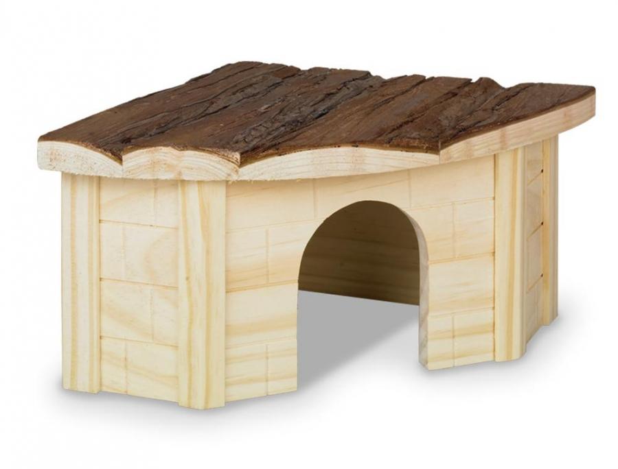 Nobby Woodland Gordi domek pro hlodavce dřevo 22 x 22 x 13 cm