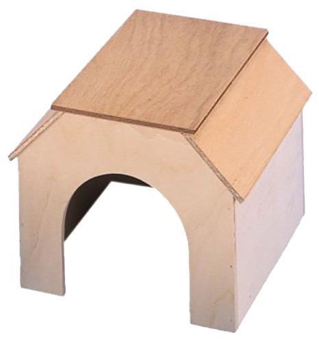 Nobby Tippy domek dřevo 11 x 13,5 x 9 cm
