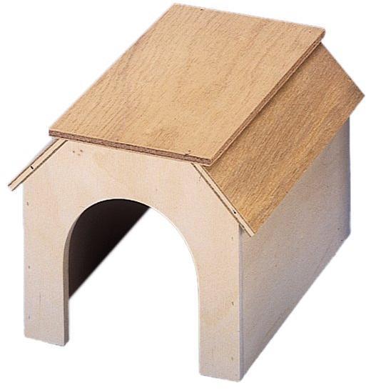 Nobby Tippy domek dřevo 16 x 20,5 x 15 cm