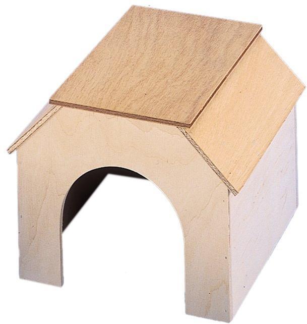 Nobby Tippy domek dřevo 18,5 x 25 x 18,5 cm