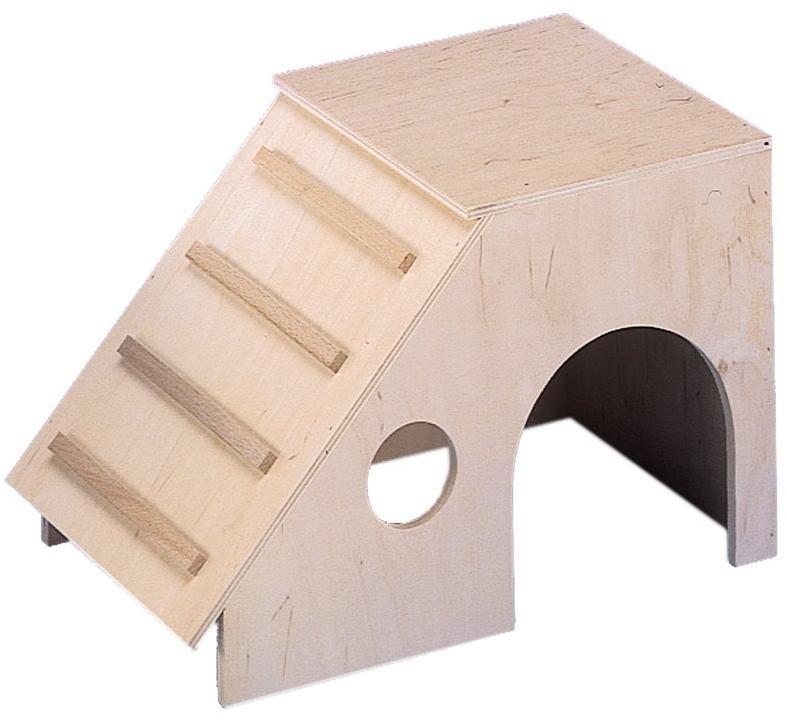 Nobby Ronny domek dřevo 31,5 x 18,5 x 21 cm