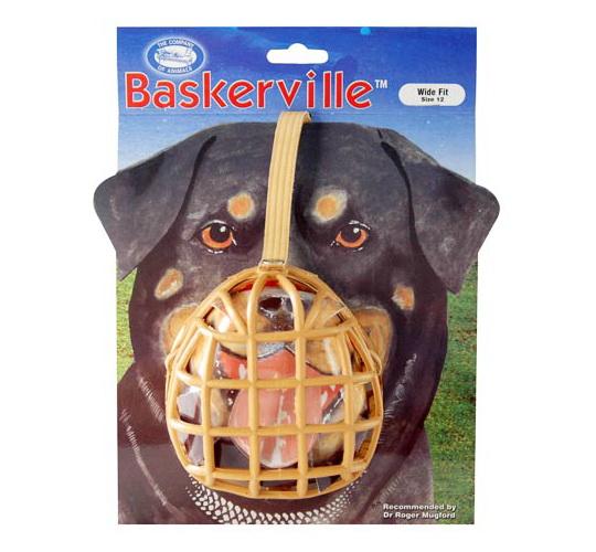 Baskerville náhubek plast vel. 12