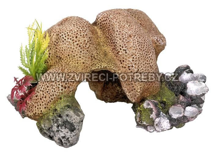 Nobby akvarijní dekorace korálový kámen 19 x 14,5 x 10,6 cm