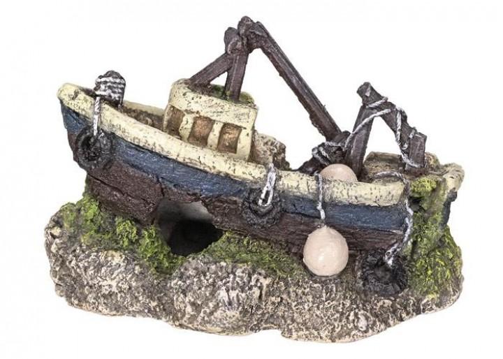 Nobby dekorace vrak loď 13 x 6,7 x 8,7 cm
