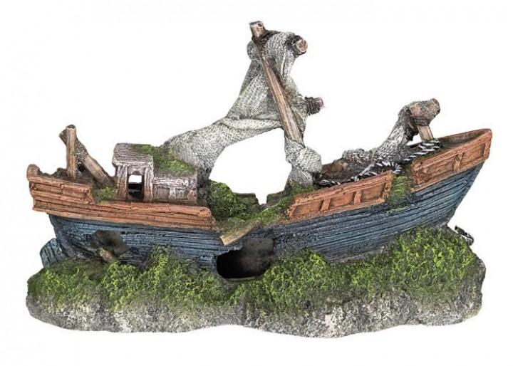 Nobby dekorace loď 21 x 8 x 13,5 cm