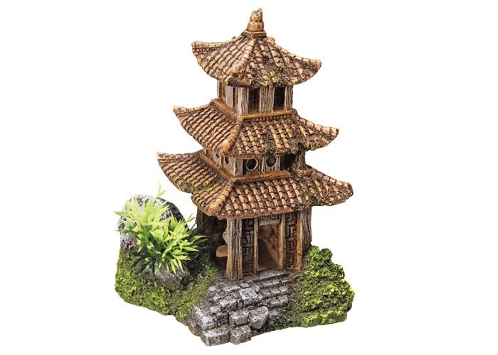 Nobby akvarijní dekorace asijský chrám 10 x 9 x 14,5 cm