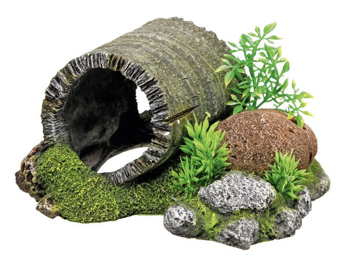 Nobby akvarijní dekorace tunel dřevo 18,5 x 15,5 x 9 cm