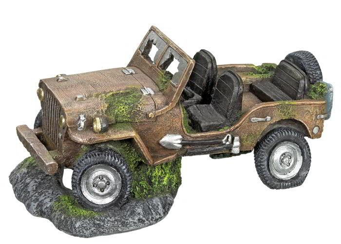 Nobby dekorace vrak Jeepu 26 x 15,5 x 12,5 cm