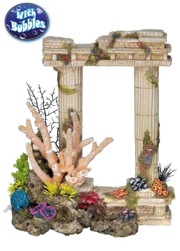 Nobby akvarijní dekorace antické sloupy se vzduchováním 25,5x13x29,5cm