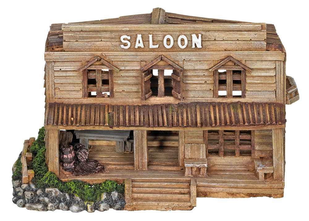 Nobby akvarijní dekorace Saloon 23x11x14cm