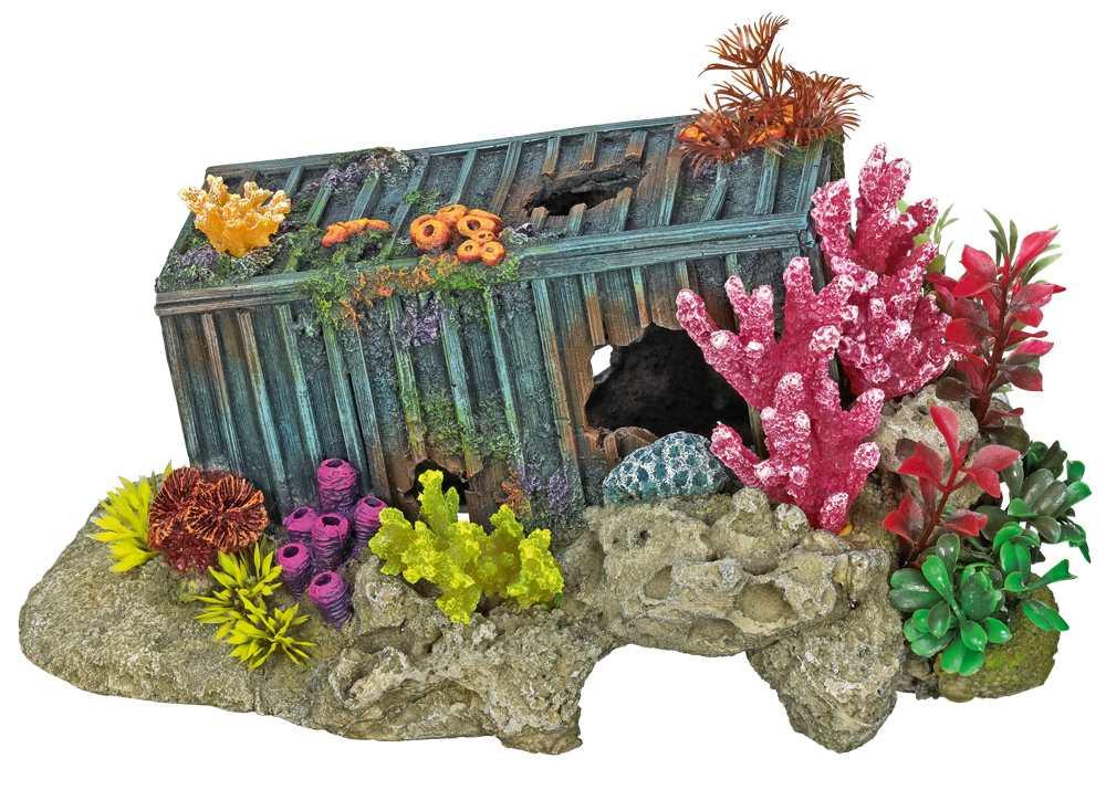 Nobby akvarijní dekorace kontejner s korály 30x19,5x15cm