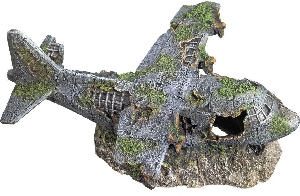 Nobby akvarijní dekorace vrak letadla 21,8 x 17,5 x 8,3 cm