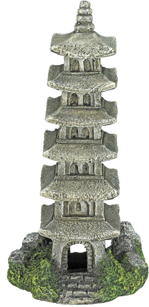 Nobby akvarijní dekorace pagoda 6 x 9,5 x 15,5 cm