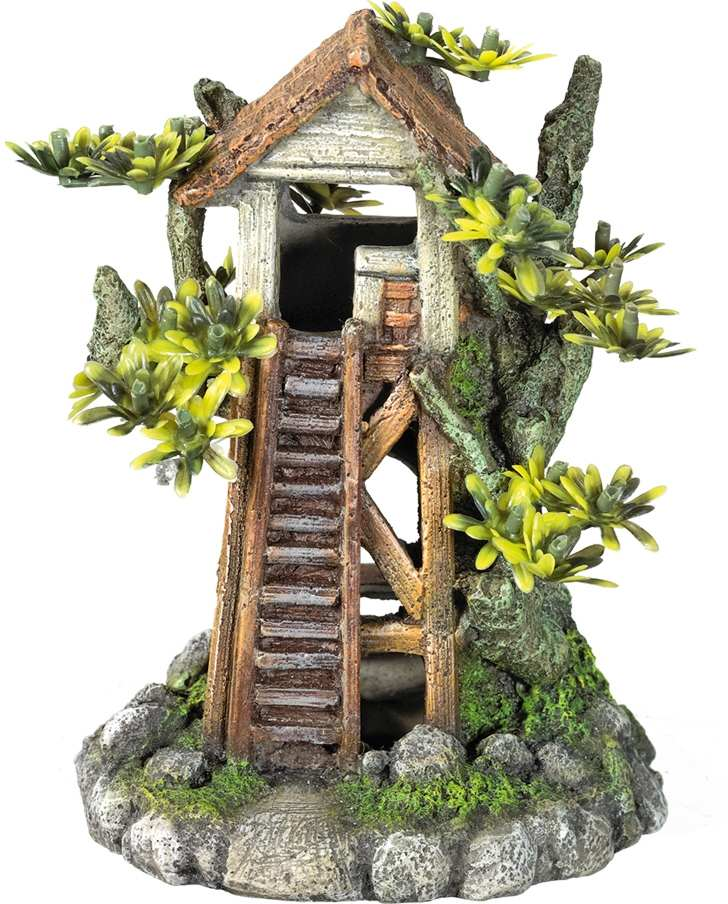 Nobby akvarijní dekorace dům na stromě 12,2 x 9,2 x 15,5 cm