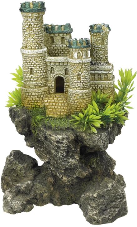Nobby akvarijní dekorace hrad na skále 12,5 x 10,5 x 19 cm