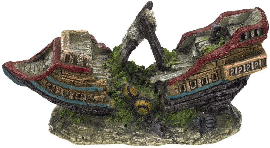 Nobby akvarijní dekorace Vrak lodě 13 x 5,5 x 6 cm