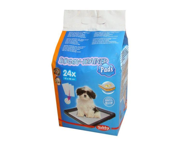 Nobby Doggy Trainer S podložky pro štěňata 48 x 41 cm 24 ks