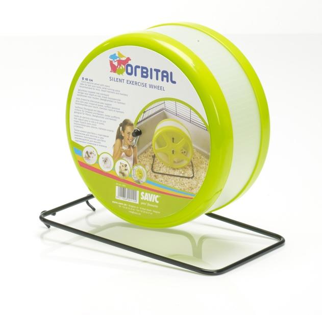 Savic Orbital tichý kolotoč 18 cm zelená