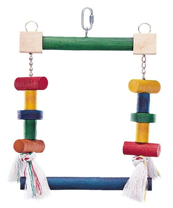 Nobby barevná houpačka pro papoušky 23x21cm