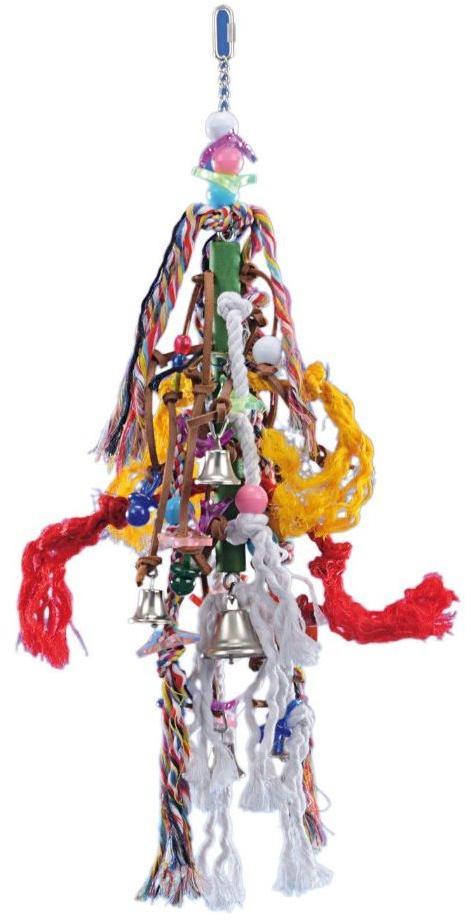 Nobby závěsná hračka pro velké papoušky 60x18cm