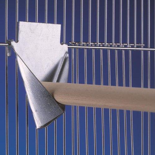 Nobby kovový bržák na bidlo do klece 15 x 18 cm