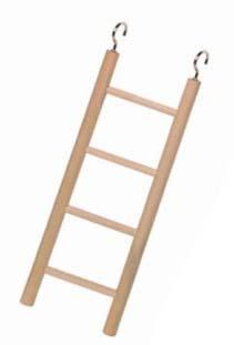 Nobby dřevěný závěsný žebřík pro papoušky 4 příčky 18cm