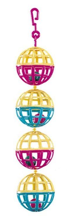 Nobby hračka pro malé papoušky koule s rolničkou 1ks