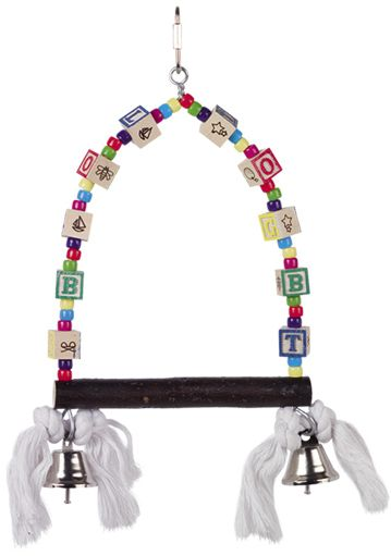 Nobby hračka pro malé papoušky houpačka 28x17cm