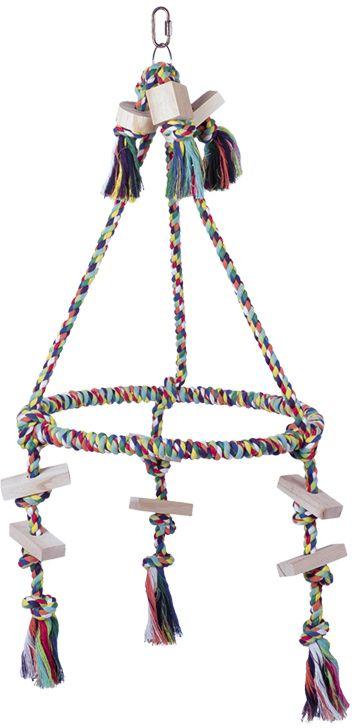 Nobby hračka pro velké papoušky pyramida 69x38cm