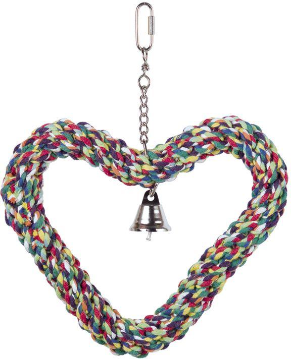 Nobby hračka pro papoušky tvarující srdce 27x21cm