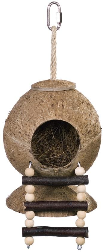 Nobby kokosový domek s žebříkem 31 x 11,5 cm
