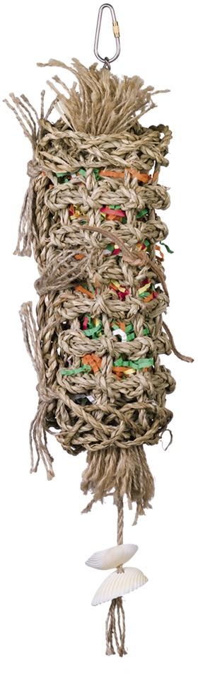 Nobby aktivní hračka pro papoušky mořská tráva 40 x 8 cm