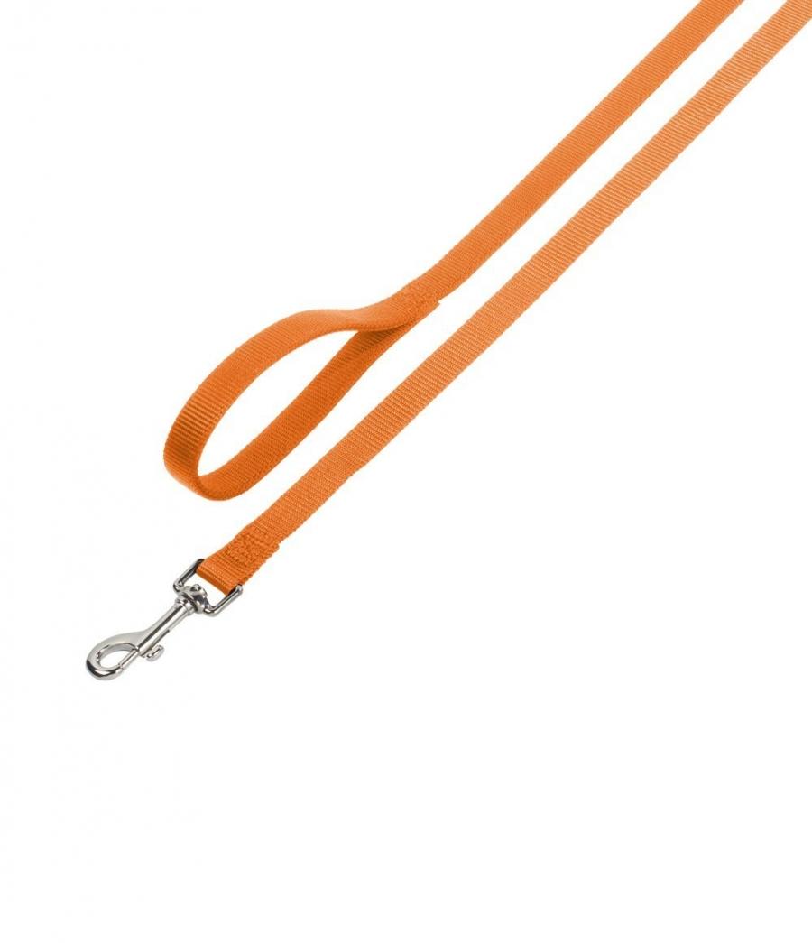 Nobby CLASSIC nylonové vodítko 120cm / 25mm oranžová