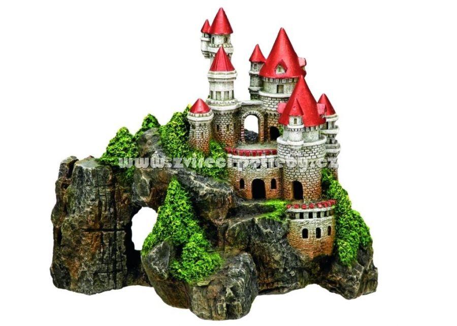 Nobby akvarijní dekorace hrad na skále 29x16x25cm